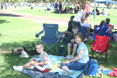 Australia Day picnic in Perth