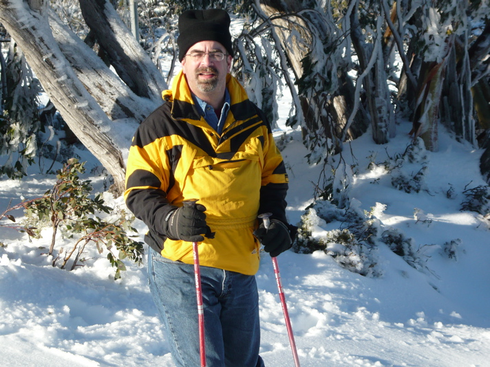 Skiing on Mt. Baw Baw - Victoria