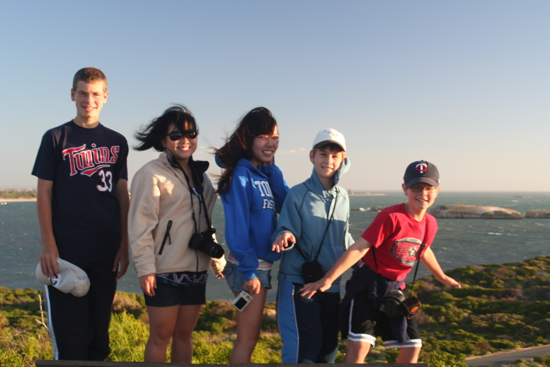 Cousins at Pt Peron