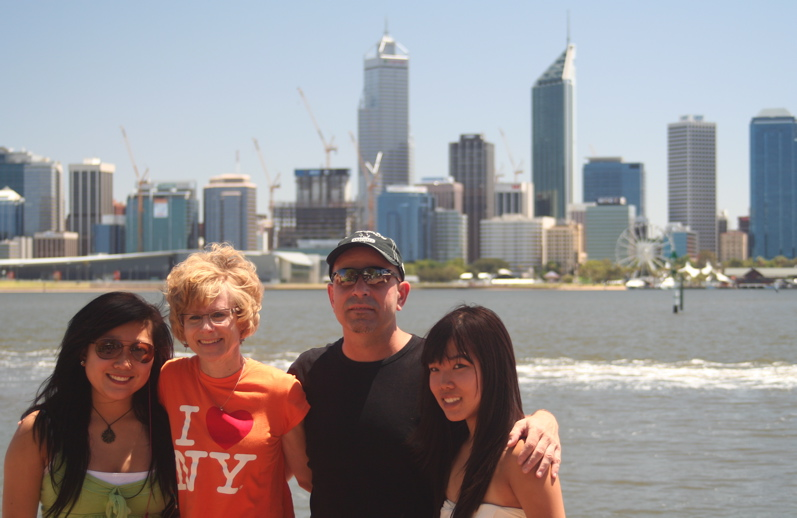 Family in Perth