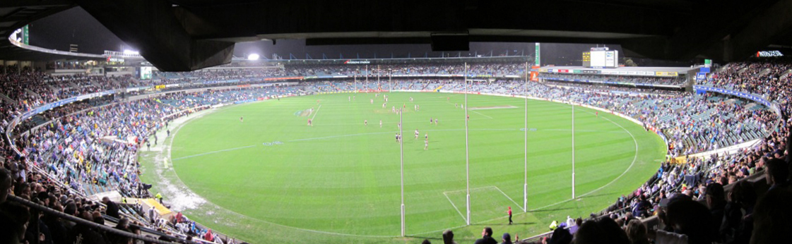 Dockers AFL game at Subiaco